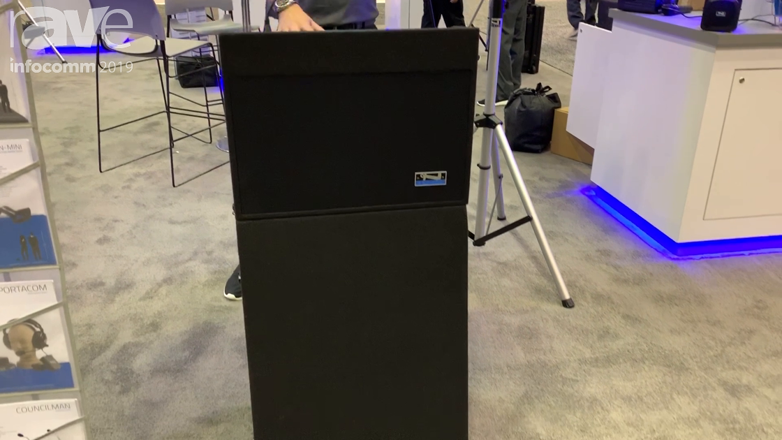 InfoComm 2019: Anchor Audio Exhibits the Acclaim 2 Portable Battery-Powered Lectern