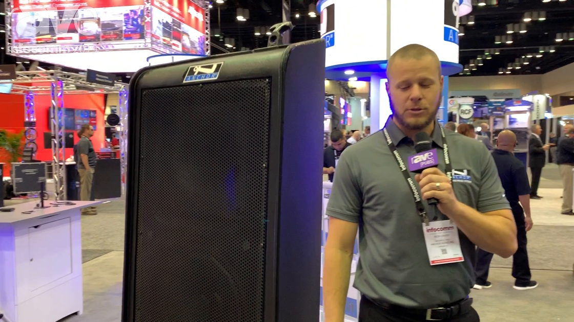 InfoComm 2019: Anchor Audio Showcases Updated BigFoot 2 Portable Sound System