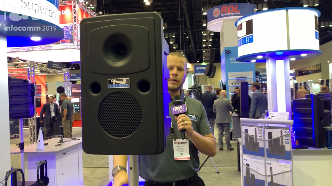 InfoComm 2019: Anchor Audio Features Small Go Getter 2 Battery-Powered PA System