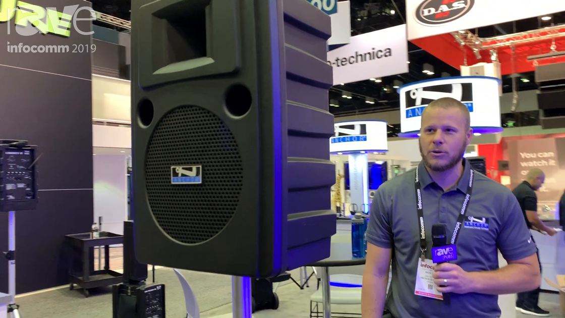 InfoComm 2019: Anchor Audio Features Liberty 2 Battery Powered PA System With Lithium Ion Batteries