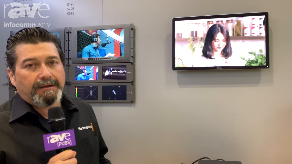 InfoComm 2019: Blackmagic Design Showcases Its Teranax Mini SDI to HDMI 8K HDR Box