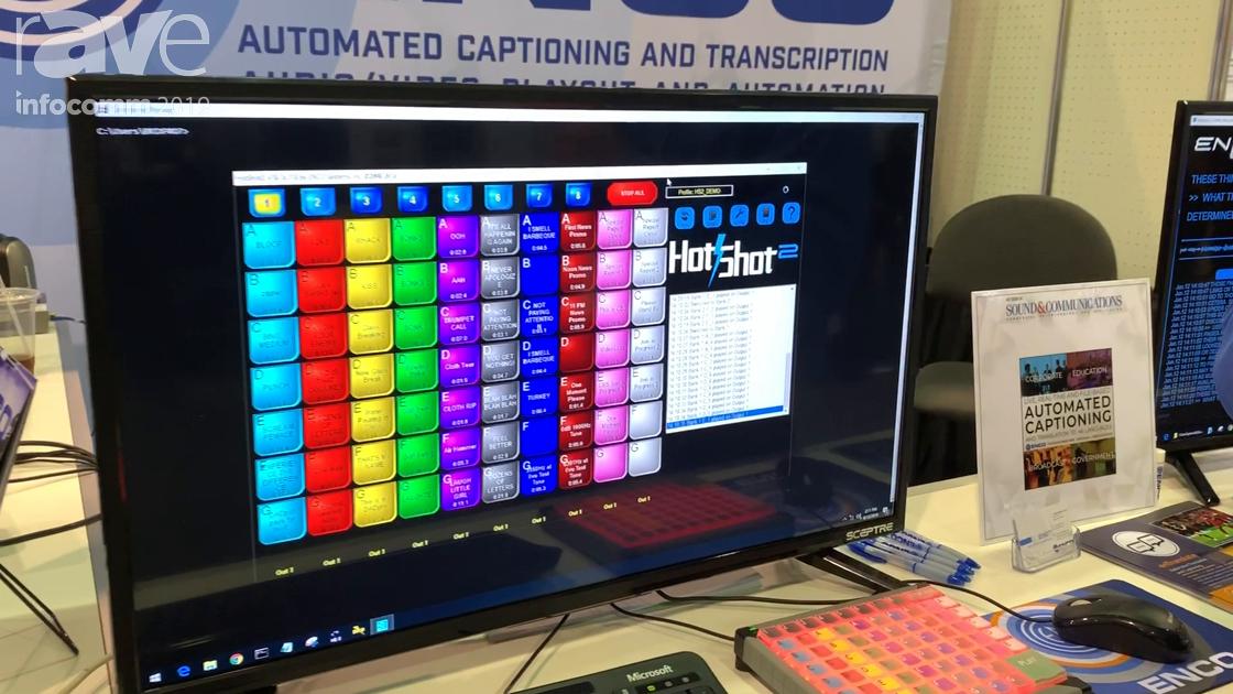InfoComm 2019: ENCO Systems Demos Its HotShot Audio Playout System