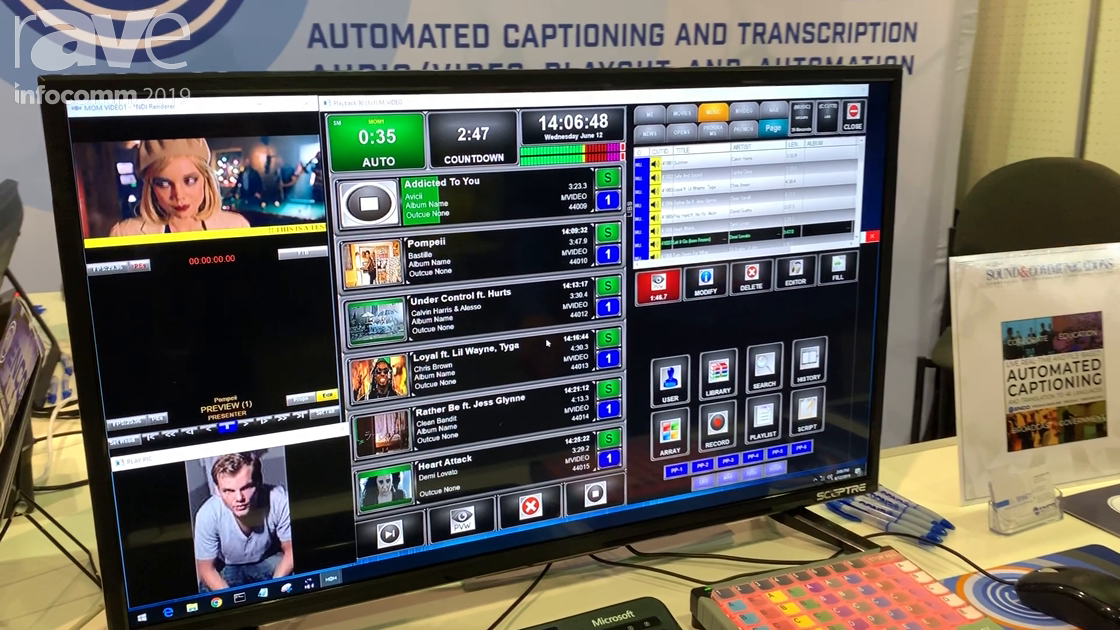 InfoComm 2019: ENCO Systems Demos Media Operations Manager for Playout of Up to Eight Channels Video
