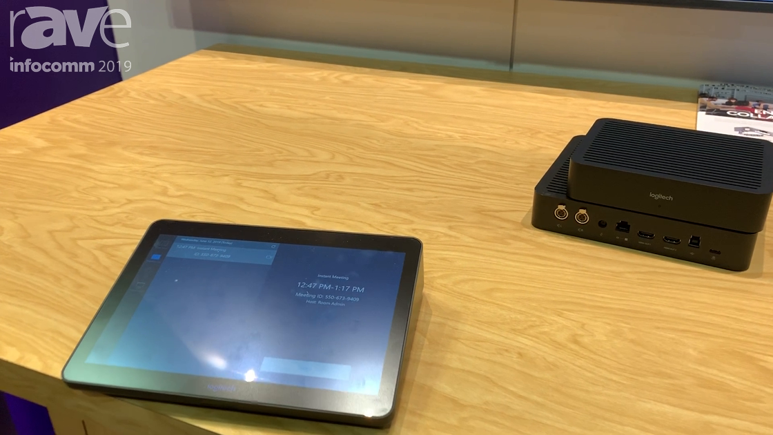 InfoComm 2019: Logitech Ships TAP Controller for Zoom Rooms