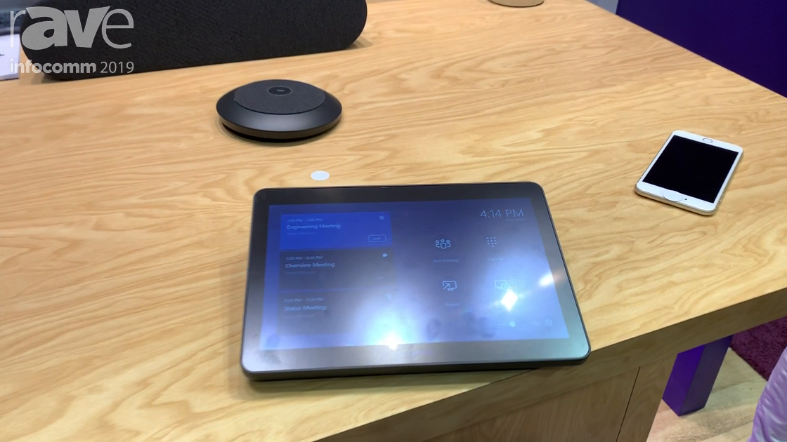 InfoComm 2019: Logitech Showcases Logitech TAP for Microsoft Teams Rooms Solution, Now Shipping
