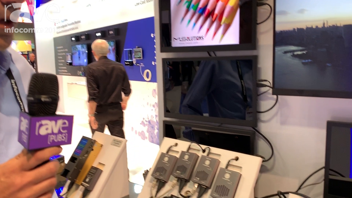 InfoComm 2019: MSolutions Shows Cost-Effective 4K 4:4:4/4:2:0 Extenders With RS232 and Dual IR