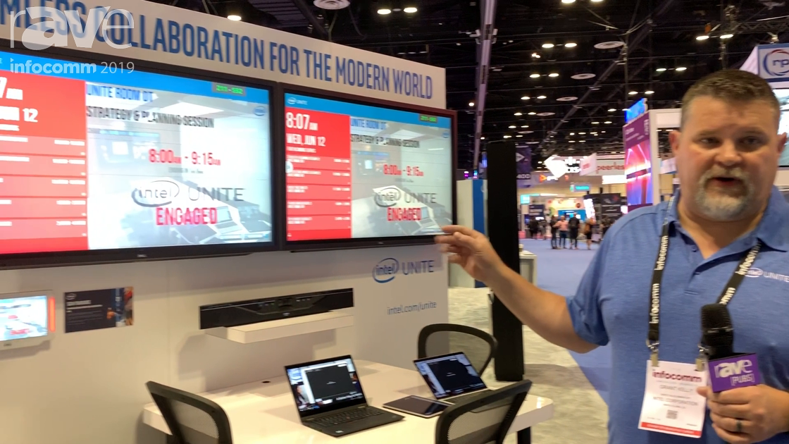 InfoComm 2019: Intel Shows How Intel Unite Works in a Conference Room