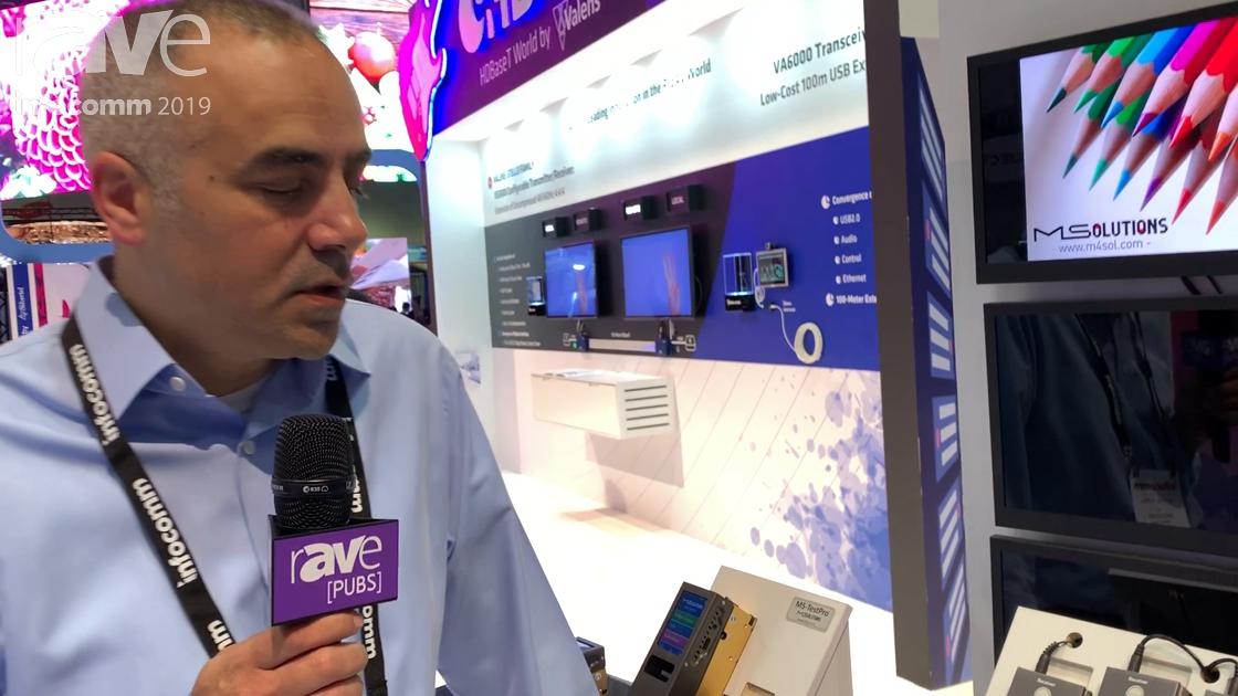 InfoComm 2019: MSolutions Showcases MS-0401 HDBaseT Bi-Directional Switcher