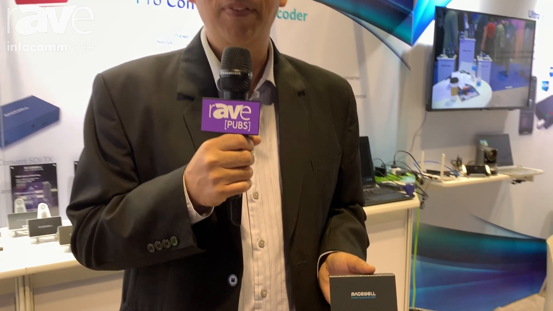 InfoComm 2019: Magewell's Pro Convert NDI Encoders Join New AV-Over-IP With Existing Technology