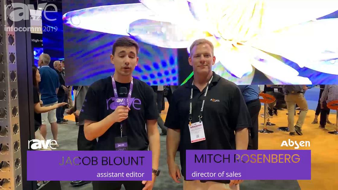 InfoComm 2019: Jacob Interviews Mitch Rosenberg, Director of Sales at Absen