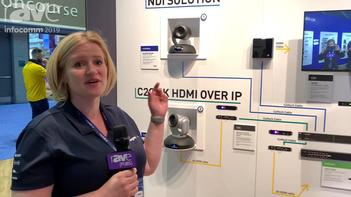 InfoComm 2019: Vaddio Talks AV-Over-IP Solutions Including C2G 4K HDMI Over IP, EasyIP Solutions