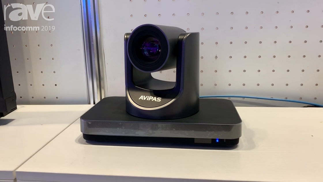 InfoComm 2019: AViPAS Shows PTZ Cameras and Keyboard Controllers
