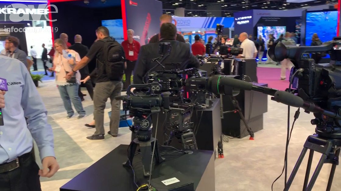InfoComm 2019: Canon Shows Flagship Cinema Cameras