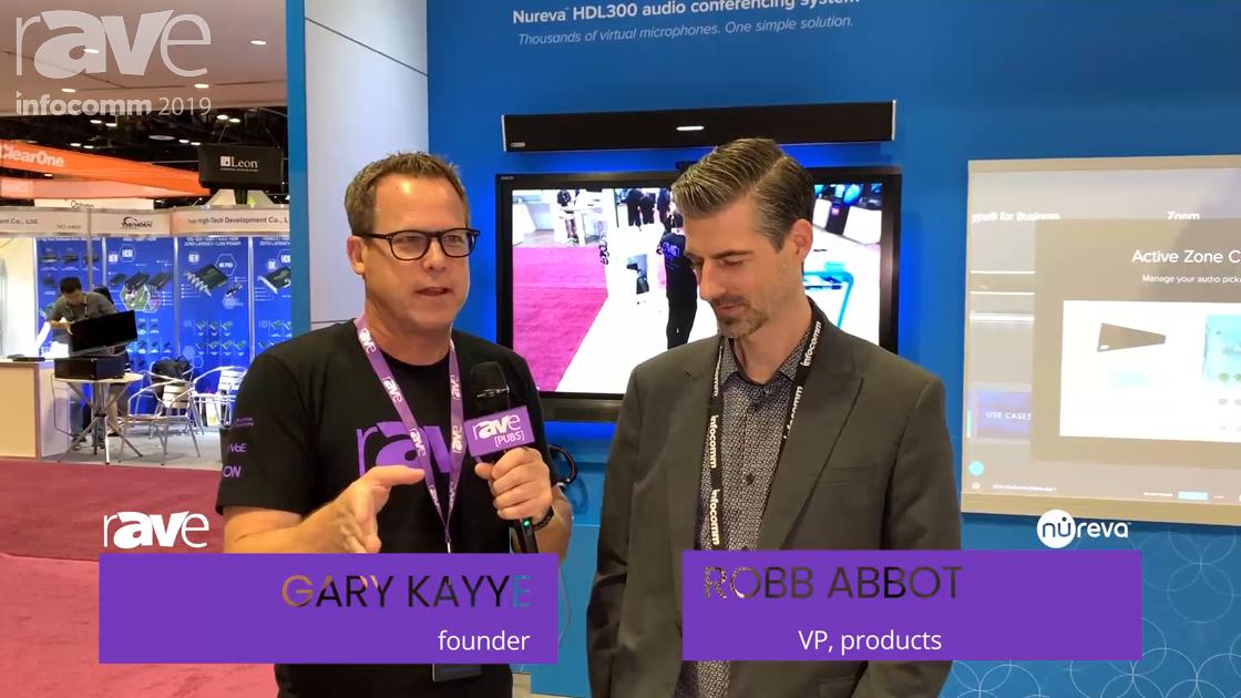 InfoComm 2019: Rob Abbott Takes Gary on a Nureva Booth Tour at InfoComm 2019