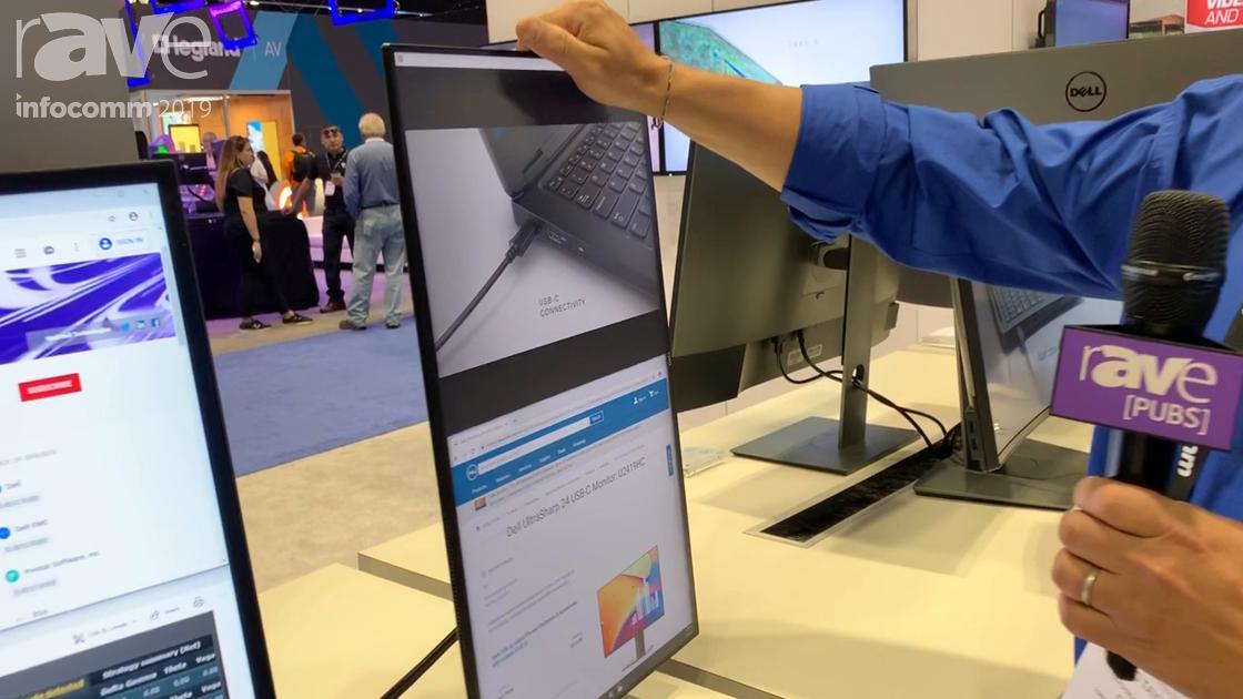 InfoComm 2019: Dell Technologies Presents U2419H Ultrasharp 24 Monitor