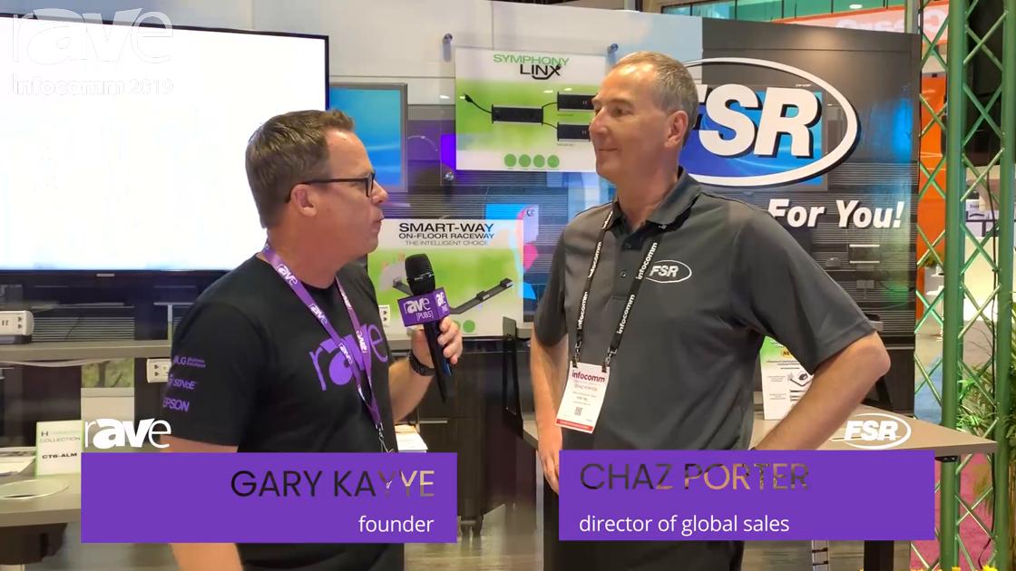 InfoComm 2019: Gary Talks to Chaz Porter from FSR About Their Smart-Way Floor Raceway System