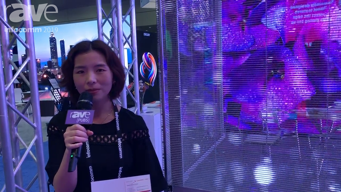 InfoComm 2019: Leyard Vteam Showcases Totally Frameless Transparent LED Display