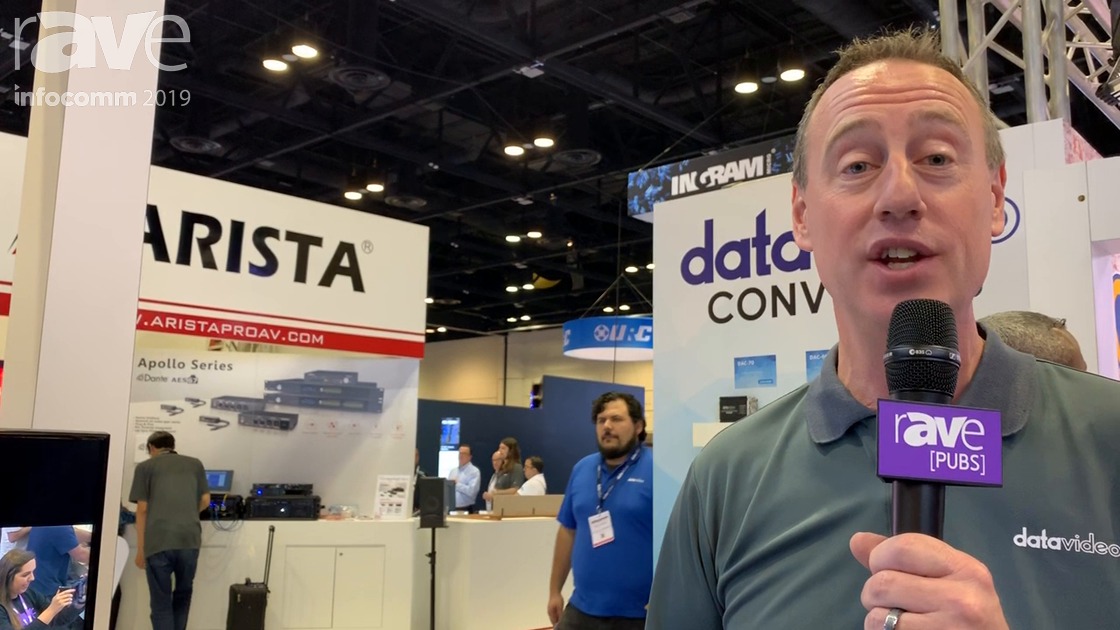 InfoComm 2019: Datavideo Shows NVS 33 Single-Channel Streaming Encoder and Recorder