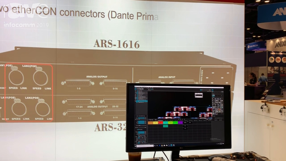 InfoComm 2019: Arista Corporation Demos Its Turnkey Projection Mapping System