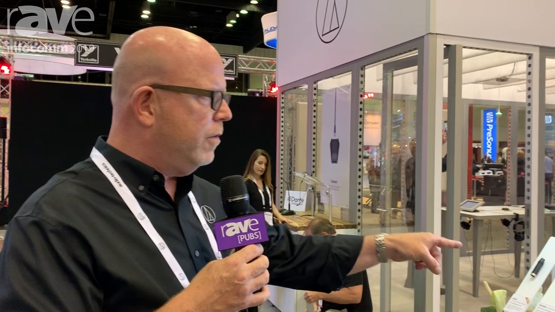 InfoComm 2019: Audio-Technica Features Its ES925 Modular Gooseneck System