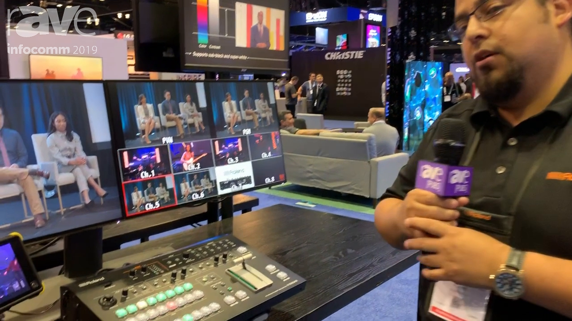 InfoComm 2019: Roland Features V-600UHD 4K HDR Multi-Format Video Switcher