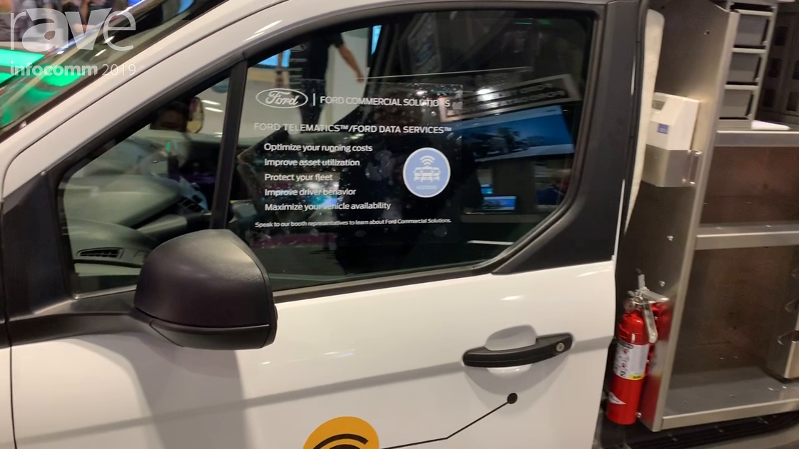 InfoComm 2019: Ford Shows New Transit Connect Van for AV Integrators