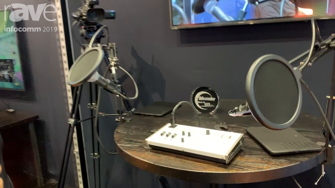 InfoComm 2019: Roland Demos VR-1HD 3-Input HD Switcher and Mixer with Video Follow Audio
