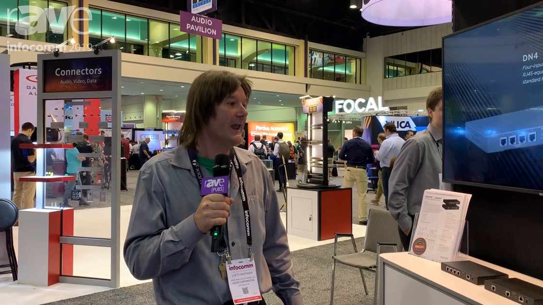 InfoComm 2019: Audix Shows DN4, DN43, and M3WDK Networked Audio Products for UCC Rooms