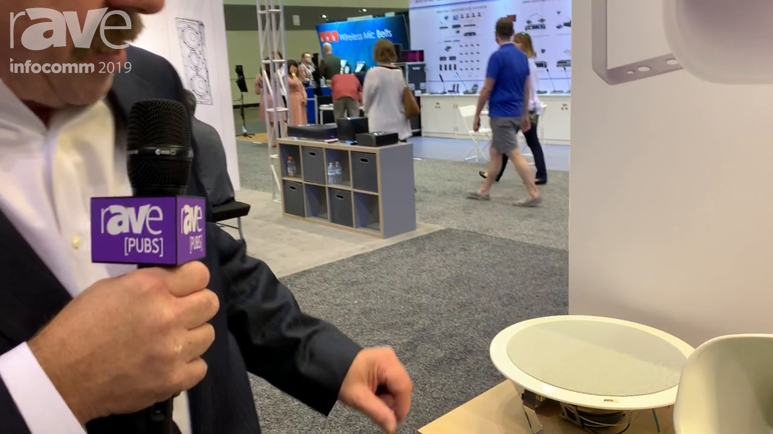 InfoComm 2019: Axis Communications Shows C2005 Networked Ceiling Speaker