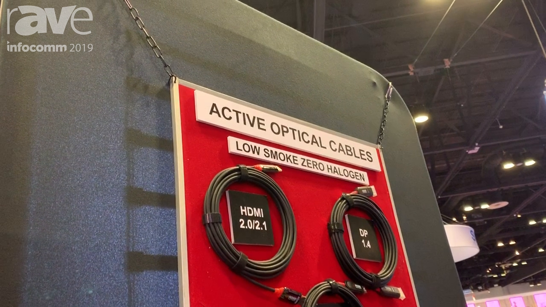 InfoComm 2019: Rose Electronics Presents New Family of Hybrid Active Optical Cables with