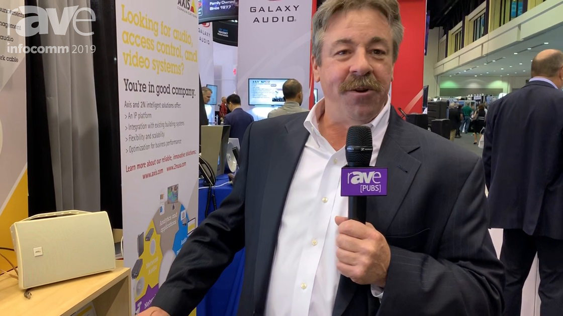 InfoComm 2019: Axis Communications Shows C8033 Network Audio Bridge
