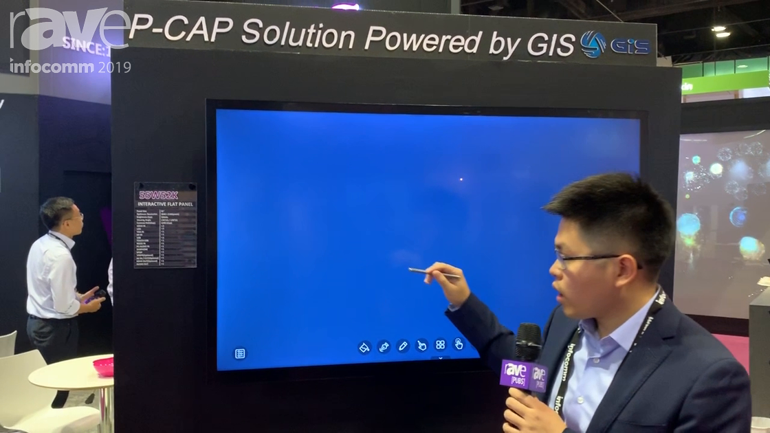 InfoComm 2019: KTC Showcases 55W52K P-CAP 55 and 65-Inch Interactive Flat Panel