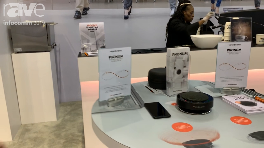 InfoComm 2019: beyerdynamic Shows Phonum, a Bluetooth Wireless Speaker Phone