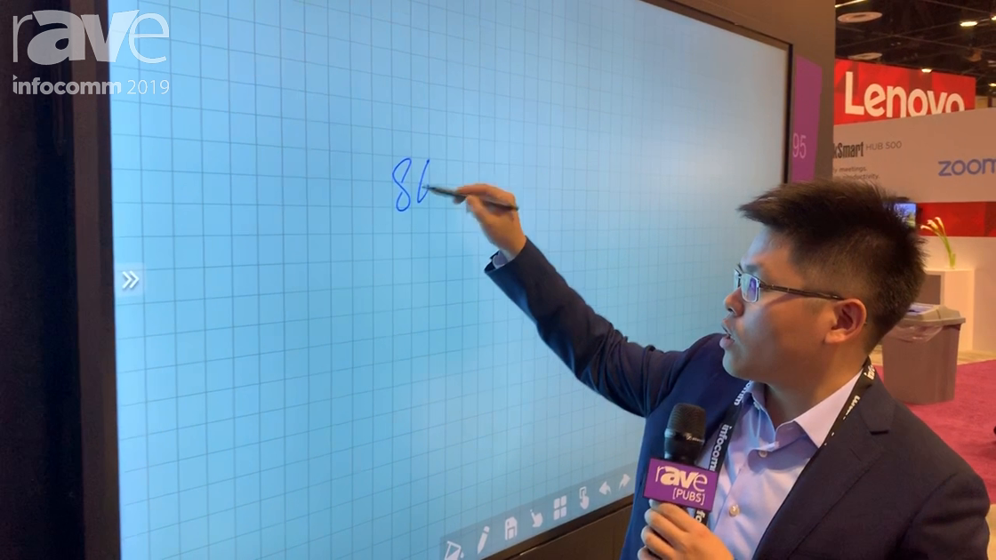InfoComm 2019: KTC Presents 86-Inch IR Interactive Flat Panel