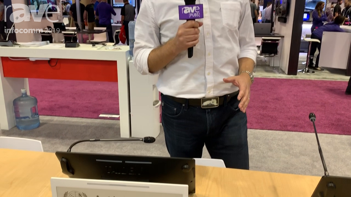 InfoComm 2019: Taiden Presents E-Ink Nameplate