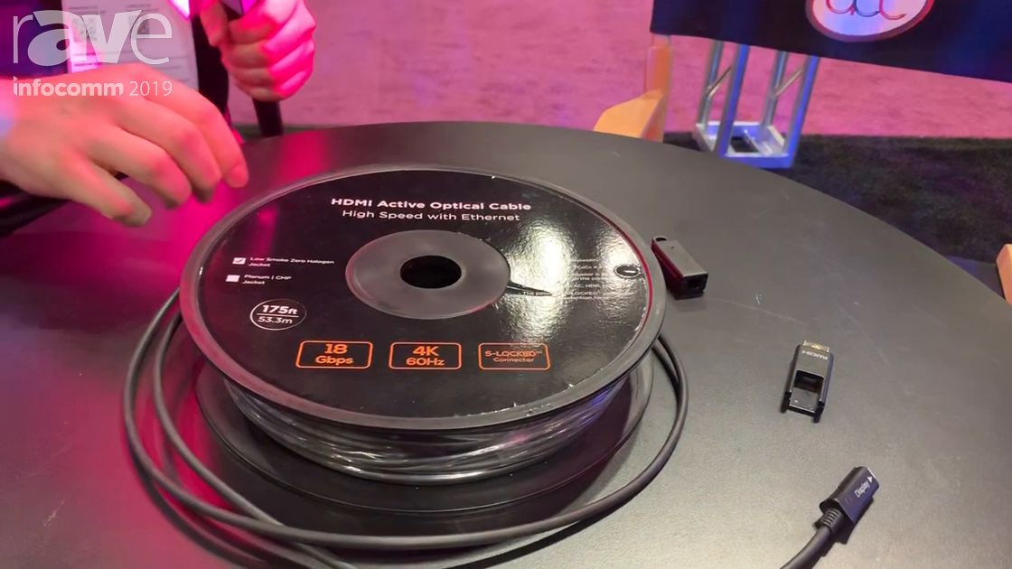 InfoComm 2019: Pro Co Sound Features HDMI Active Optical Cable