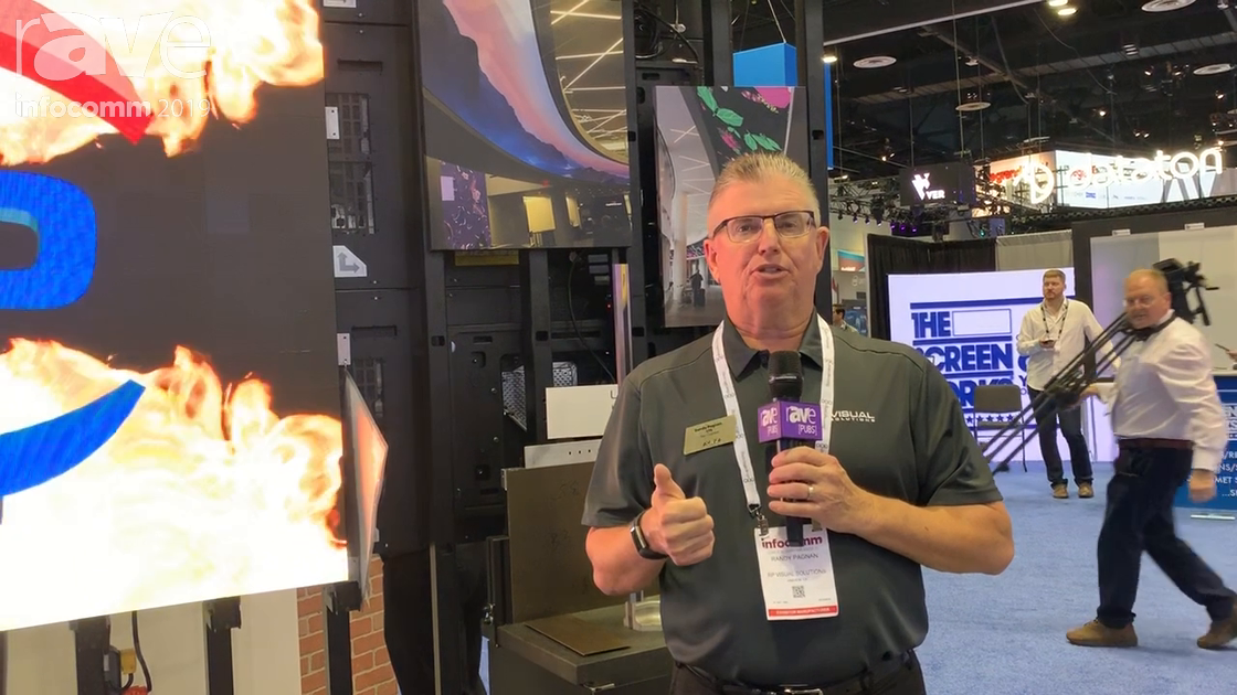 InfoComm 2019: rp Visual Solutions Features Vertical Custom Mounting Solution