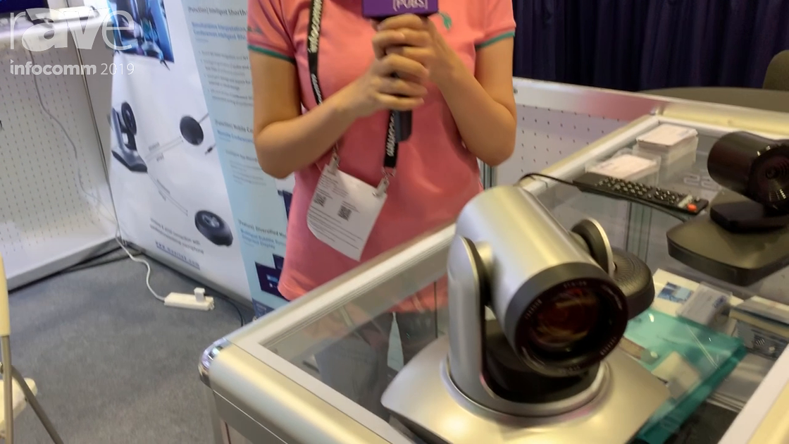 InfoComm 2019: Shenzhen Morertek Technology Co Showcases PTZ Cameras with Voice Activation
