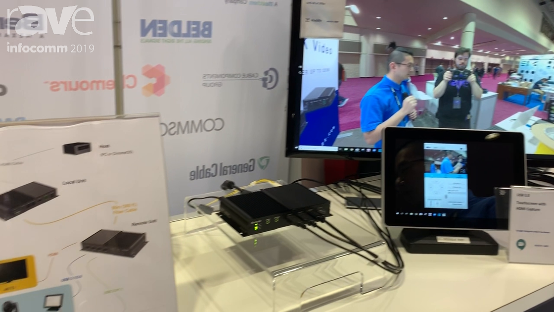 InfoComm 2019: Newnex Features USB 3.1 Plus 4K HDMI Extender Over Optical Fiber