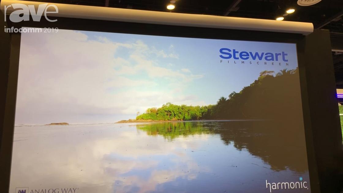 InfoComm 2019: Stewart Filmscreen Introduces New Field-Serviceable Luxus Projection Screen