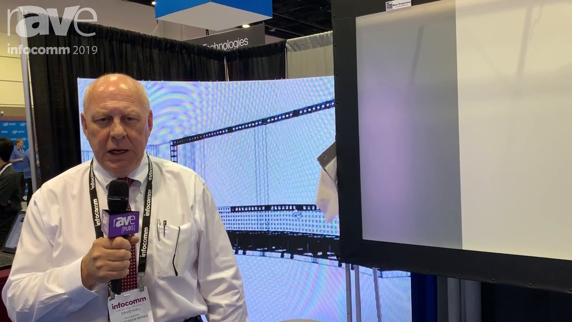 InfoComm 2019: The Screen Works Talks About Quality Portable Projection Screens