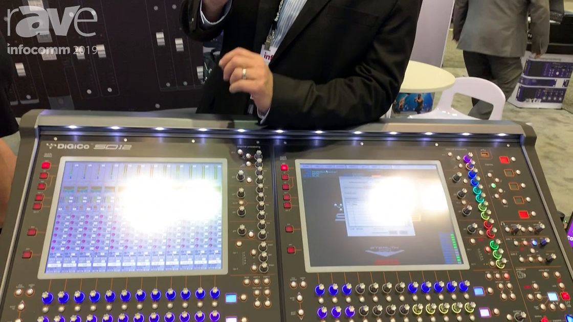 InfoComm 2019: DiGiCo SD12 Upgrades to Become SD12-96 Digital Mixing Console