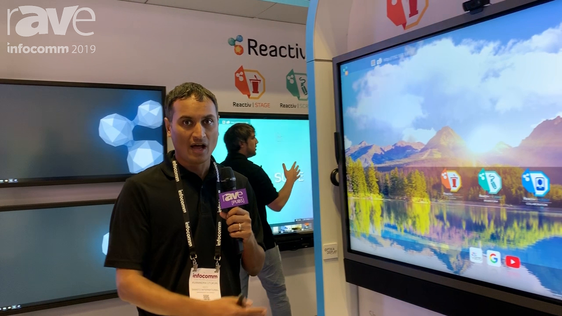 InfoComm 2019: Vizetto's Huddle Feature Connects Multiple Interactive Flat Panels for Collaboration
