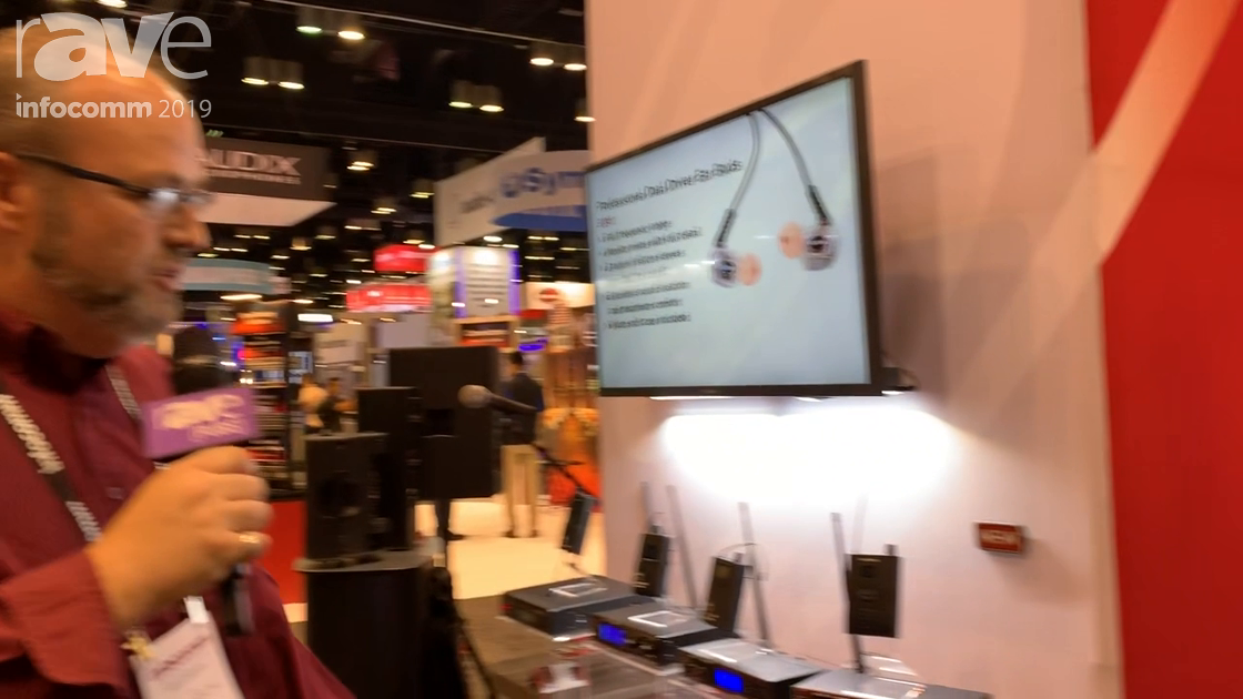 InfoComm 2019: Galaxy Audio Talks About AS-950 Wireless Personal Monitoring System