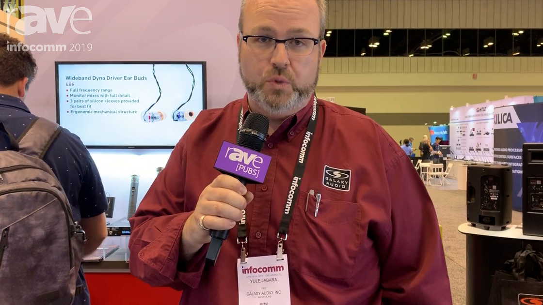 InfoComm 2019: Galaxy Audio Showcases HSM24 Waterproof Headset and Microphone