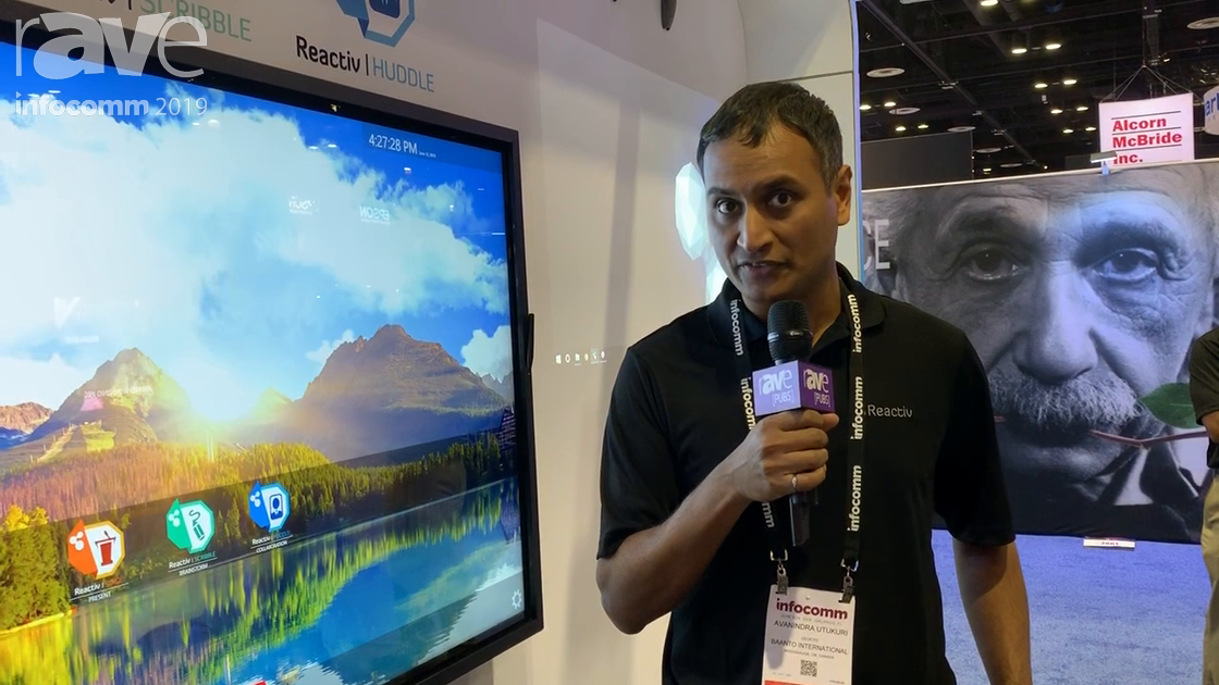 InfoComm 2019: Vizetto Demo Updates to the Reactiv SUITE Collaboration Software