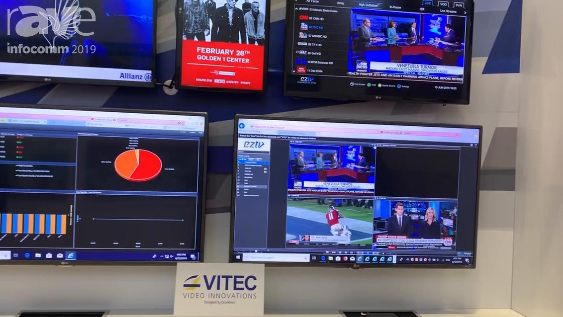 InfoComm 2019: VITEC Presents EZ TV IPTV and Digital Signage Platform