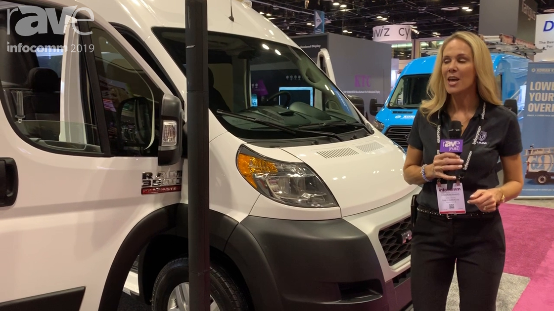 InfoComm 2019: RAM Commercial Showcases 2019 Ram 3500 Promaster Cargo 159″ WB EXT-High Roof Van