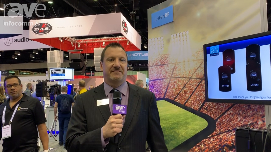 InfoComm 2019: Listen Technologies Shows ListenRF FM Assisted Listening Solutions and IDSP Receivers