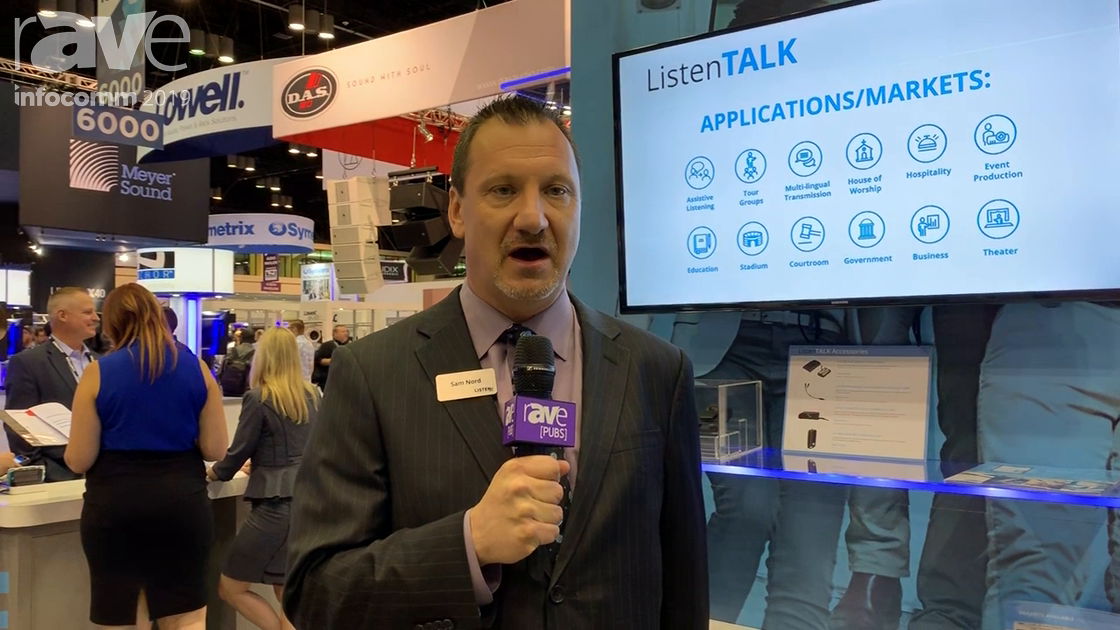 InfoComm 2019: Listen Technologies Presents ListenTALK Two-Way Mobile Wireless Communication System